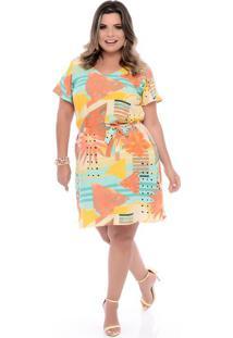 Vestido Tropicália Plus Size