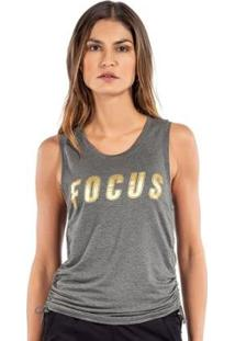 Camiseta Regata Training Live On Focus Feminina - Feminino