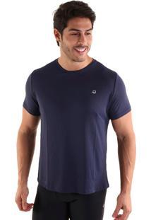 Camiseta Liquido Square - Azul Marinho Gg