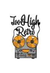 Adesivo De Parede - Too High Retro - 202Ms-G