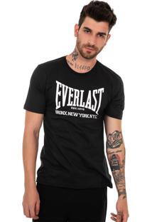 Camiseta Everlast Bronx Azul Marinho
