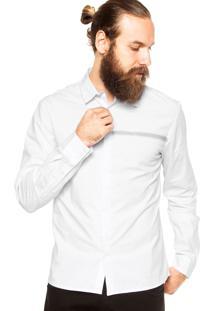 Camisa Calvin Klein Jeans Gola Branca