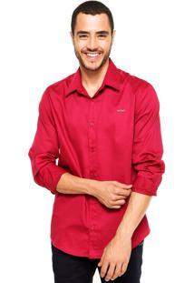 Camisa Colcci Tric Vinho
