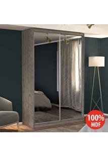 Guarda Roupa 2 Portas Com 2 Espelhos 100% Mdf 771E2 Demolição - Foscarini