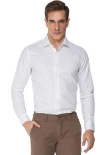 Camisa Hugo Rossi Clássica L Branca - Masculino