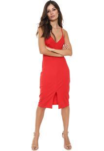 fd981b557 Vestido Colcci Vermelho feminino | Starving