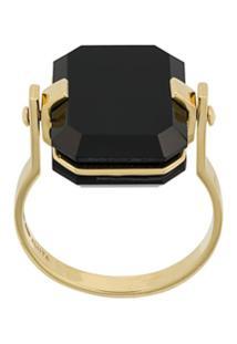 Aliita Sandwich Deco Ring - Dourado