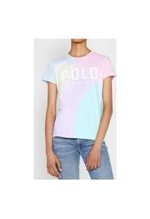 Camiseta Polo Ralph Lauren Tie Dye Rosa