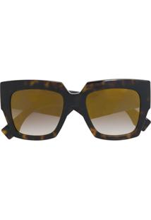 e8d71fcb6066d Farfetch. Fendi Eyewear Óculos De Sol ...