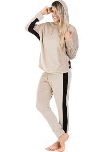 Pijama Dulmar Plush Bege