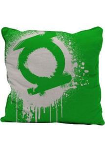 Capa Para Almofada - Dc Comics - Lanterna Verde - Logo - 45X45Cm - Metrópole