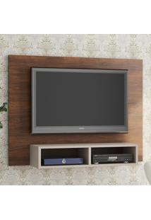 Painel Para Tv Até 48 Polegadas Kathy Seda/Off White - Viero Móveis