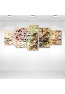 Quadro Decorativo - Art58 - Composto De 5 Quadros - Multicolorido - Dafiti