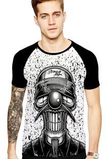 Camiseta Stompy Tattoo Rock Collection 74 Preto