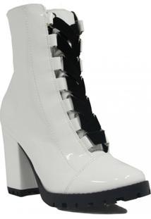 Bota Zariff Shoes Ankle Boot Salto Feminino - Feminino