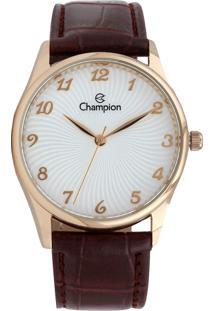 Relógio Champion Cn28240S Marrom