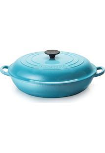 Caçarola De Ferro Buffet Le Creuset Azul Caribe 30Cm - 364