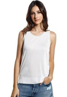 Regata Le Lis Blanc Leticia Iii Malha Off White Feminina (Off White, G)