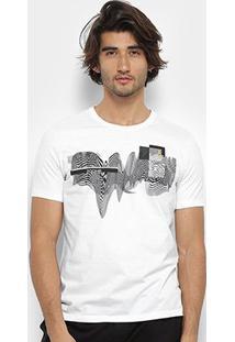 Camiseta Zoomp Vibration Masculina - Masculino-Branco
