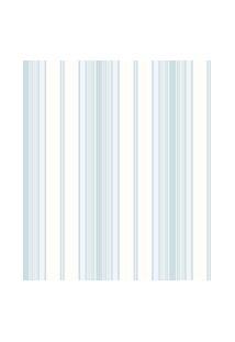 Papel De Parede Coleçáo Bambinos Azul Branco Listras 3362 Bobinex