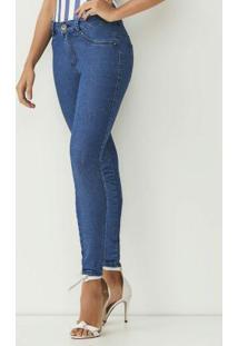 Calça Jeans New Skinny Azul