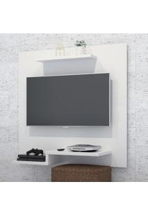 Painel Horizon Plus Para Tv De 32 Polegas Com Prateleira Superior E Inferior
