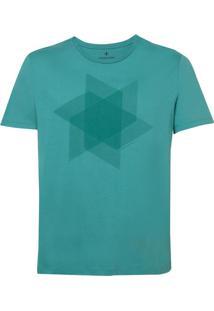 Camiseta Dudalina Manga Curta Decote Careca Wind Masculina (Verde Claro, P)