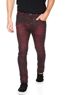 Calça Jeans John John Skinny Glebe Vinho