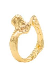 Anel Distorcido Dourado