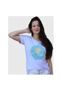 Camiseta Sol Branca D Bell