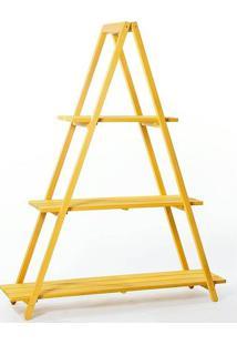 Estante Escada Troia Amarela 150Cm - 61414 - Sun House