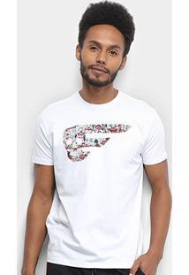 Camiseta Ellus Clowns Classic Masculina - Masculino-Branco