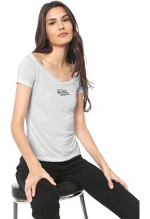 Camiseta Von Dutch Logo Branca