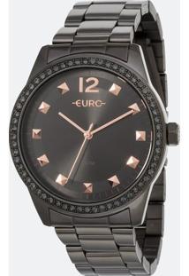 Relógio Feminino Euro Eu2035Yrn/4C Analógico 5Atm