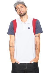 Camisa Pólo Branca Dc Shoes masculina  cf7527c0926