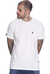Camiseta Vlcs Logotipia Diferenciada Branca