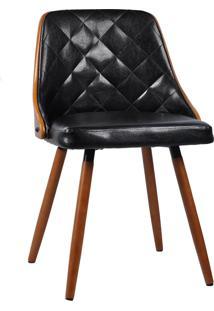 Cadeira Milã£O Preta Rivatti Mã³Veis - Preto - Dafiti