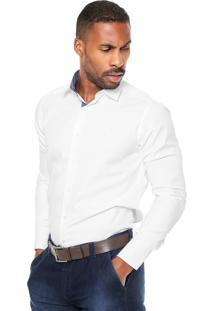 Camisa Aleatory Slim Fit Branca