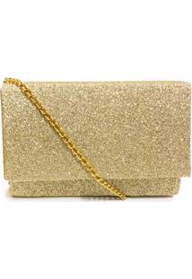 Bolsa Clutch Glitter