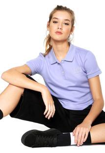 Camisa Polo Puma Fenty Roxa