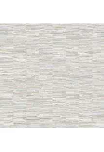 Papel De Parede Abstrato- Cinza & Bege Claro- 1000X5Shark Metais