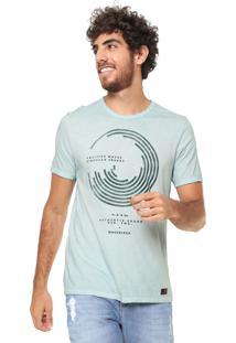 Camiseta Hering Lettering Verde