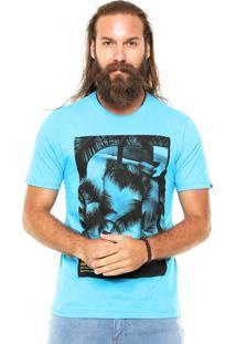 Camiseta O'Neill Catch The Fram Azul