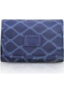 Necessaire 3 Em 1 Jacki Design Viagem - Unissex-Azul