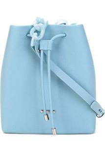 Bolsa Sweetchic Chicago Amarração Feminina - Feminino-Azul Claro