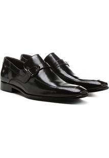Sapato Social Shoestock Sola Couro