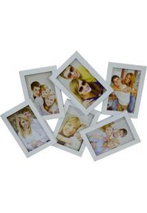 Porta Retrato Minas De Presentes Para 4 Fotos (De Pendurar) Branco