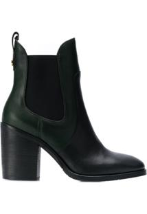 Tommy Hilfiger Block-Heel Ankle Boots - Preto