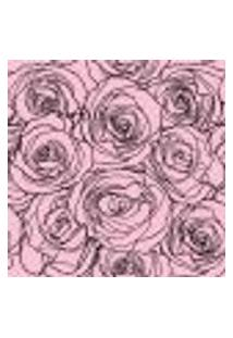 Papel De Parede Adesivo - Rosas Rosas - 045Ppf