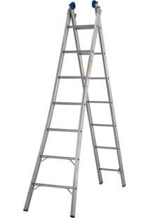 Escada Extensivel 2X7 14 Degraus - Unissex